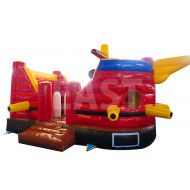 Pirate Ship Bounce House