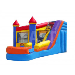 Bounce House Water Slide Combo