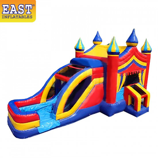 Bounce House With Waterslide