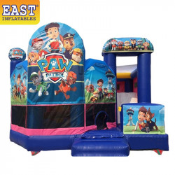 Paw Patrol Bounce House With Slide