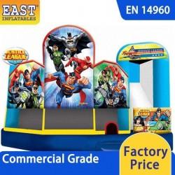 Justice League Bounce House Combo