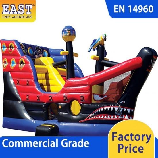 Pirate Ship Combo Bounce House