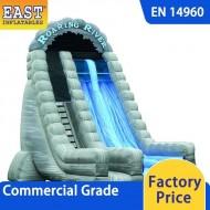 Roaring River Dual Lane Inflatable Dry Slide