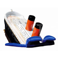 Titanic Inflatable Slide
