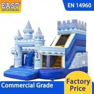 Princess Funcity Inflatable Slide