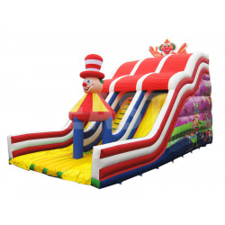 Airquee Inflatable Slide Clown