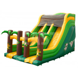 Jungle Inflatable Slide