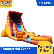 Volcano Inflatable Water Slide