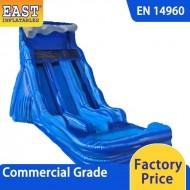 Blue Wave Dual Water Slide