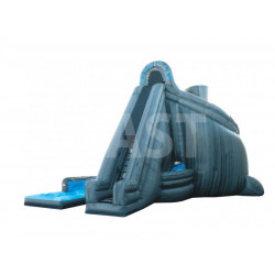 Hurricane Inflatable Water Slide