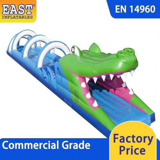 Crocodile Inflatable Water Slide