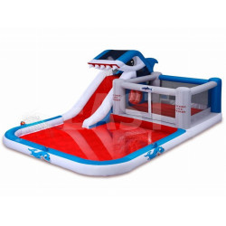 Inflatable Pool And Slide