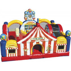 Carnival Playland Obstacle Course
