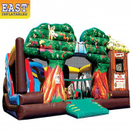 Safari Experience Inflatable Obstacle Course