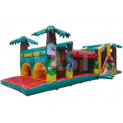 Jungle Inflatable Obstacle Course