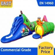 Inflatable Caterpillar Crawl