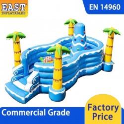 Seaworld Inflatable Play Island
