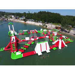 Largest Inflatable Water Park