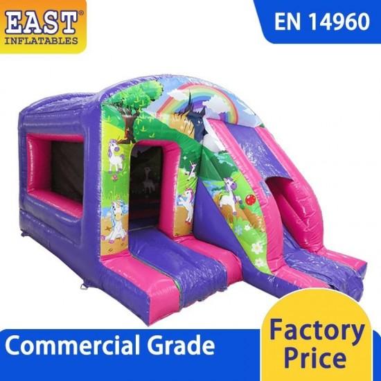 Unicorn Box Jump And Slide