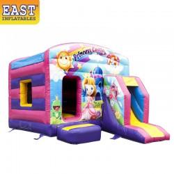Princess Bouncy Castle With Slide