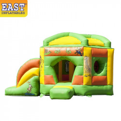 Pentagon Jungle Bouncy Castle