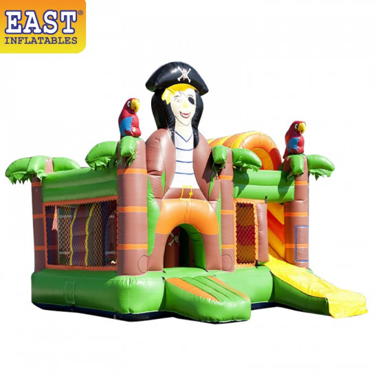 Pirate Bouncy Castle With Slide