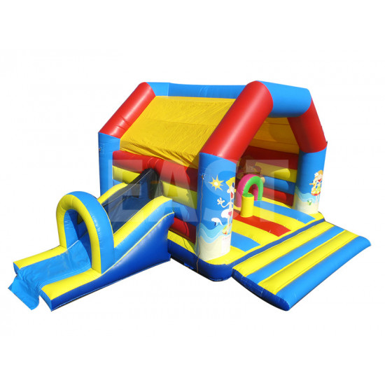Beach Bouncy Castle With Slide