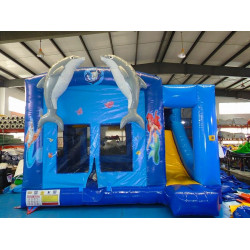 Dolphin Combo Bounce House