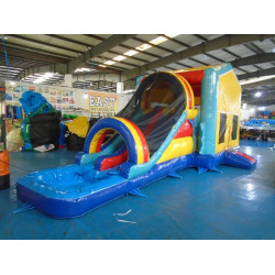 Bounce House With Pool