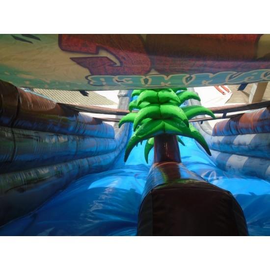 Snowzilla Giant Inflatable Slide