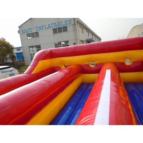 Inflatable Bungee Run Three Lane