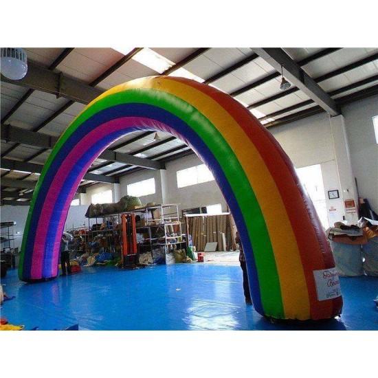 Inflatable Rainbow Arch
