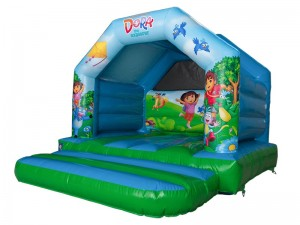 How much to hire a bouncy castle?